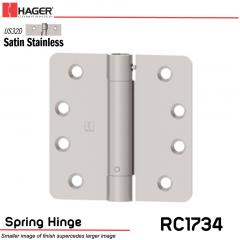 Hager 1734 US32D Full Mortise Hinge Stock No 169906