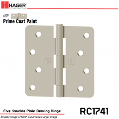 Hager 1741 USP Full Mortise Hinge Stock No 029721