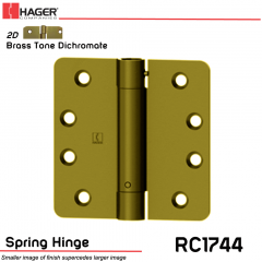 Hager 1744 US2D Full Mortise Hinge Stock No 169912
