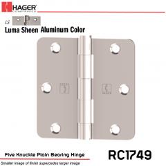Hager 1749 LS Full Mortise Hinge Stock No 033532