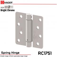 Hager 1751 US26 Full Mortise Hinge Stock No 170228