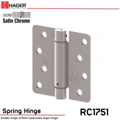 Hager 1751 US26D Full Mortise Hinge Stock No 170229