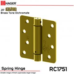 Hager 1751 US2D Full Mortise Hinge Stock No 170230