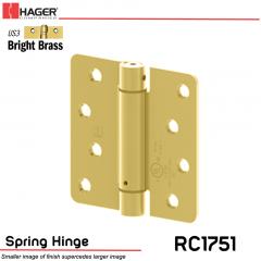 Hager 1751 US3 Full Mortise Hinge Stock No 170233