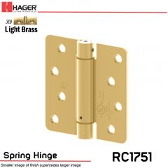 Hager 1751 US3LB Full Mortise Hinge Stock No 170234