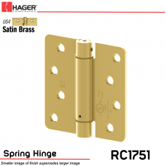 Hager 1751 US4 Full Mortise Hinge Stock No 170235