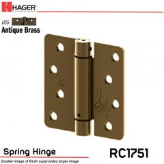 Hager 1751 US5 Full Mortise Hinge Stock No 170236