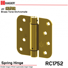 Hager 1752 US2D Full Mortise Hinge Stock No 170457