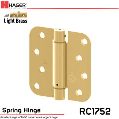 Hager 1752 US3LB Full Mortise Hinge Stock No 170459