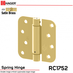Hager 1752 US4 Full Mortise Hinge Stock No 170460