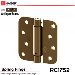 Hager 1752 US5 Full Mortise Hinge Stock No 170461