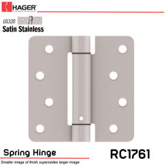 Hager 1761 US32D Full Mortise Hinge Stock No 170514