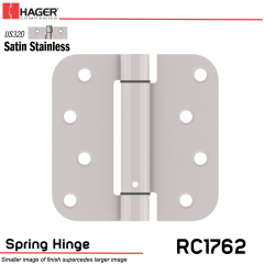 Hager 1762 US32D Full Mortise Hinge Stock No 170516