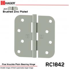 Hager 1842 US2CD Full Mortise Hinge Stock No 033802