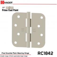 Hager 1842 USP Full Mortise Hinge Stock No 029781
