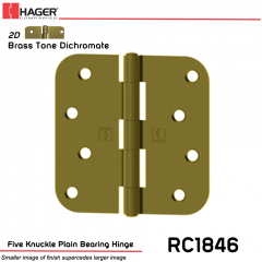 Hager 1846 US2D Full Mortise Hinge Stock No 033651