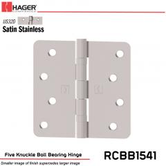 Hager 1541 US32D Full Mortise Hinge Stock No 034587