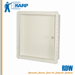 2F-RDW1212-CYL,Karp RDW 12 in. x 12 in. Recessed Access Door with Drywall Bead Ceiling/Wall-Cylinder Lock-Large