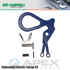 Campbell #6506010 Repair Shackle/Linkage Kit For 1 Metric Ton WLL GX Clamps