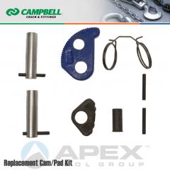 Campbell #6506011 Repair Cam/Pad Kit For 1 Metric Ton WLL GX Clamps