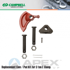Campbell #6507083 Repair Cam/Pad Kit For 8 Ton & 12 Ton Locking E Clamps