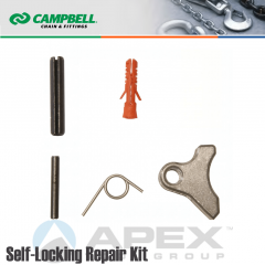 Campbell #5788495 9/32 in. Repair Kit Self Locking Hooks - Grade 100