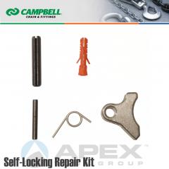 Campbell #5788495 9/32 in. Repair Kit Self Locking Hooks - Grade 100