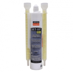 Simpson Strong-Tie SET-XP10 Epoxy Anchoring Adhesive 8.5 oz. Tube w/ 2 Nozzles