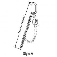 Single Adjustable Loop - Chain Slings