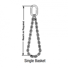 Single and Double Basket - Chain Sling