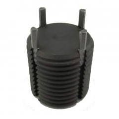 1/2-13 UNC External x 0.437 - Solid Tappable Core - Key-Locking Insert - Carbon Steel C1215