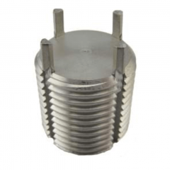 1/2-13 UNC External x 0.437 - Solid Tappable Core - Key-Locking Insert - 303 Stainless