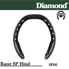 Diamond SP00 Razer SP Hind Razerhorse Horseshoes Size 0