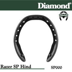 Diamond SP000 Razer SP Hind Razerhorse Horseshoes Size 000