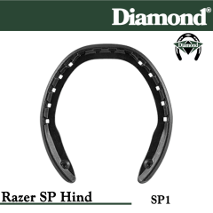 Diamond SP1 Razer SP Hind Razerhorse Horseshoes Size 1