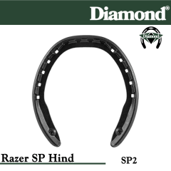Diamond SP2 Razer SP Hind Razerhorse Horseshoes Size 2
