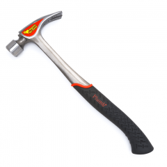 Plumb #SS28RCFN 28 oz Solid Steel Rip Claw Checkered Face Hammer