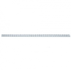 Lufkin T1260N 15/64 in. x 3 ft. Aluminum Yardstick
