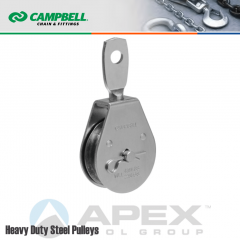 Campbell T7550304 3 in. Single Sheave Swivel Eye Pulley