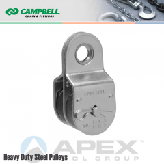 Campbell T7550421 1-1/2 in. Double Sheave Fixed Eye Pulley