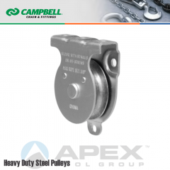 Campbell T7550502 2 in. Single Sheave Wall/Ceiling Mount Pulley