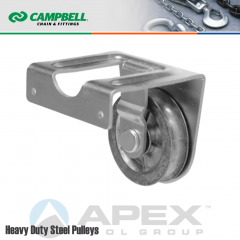 Campbell T7551522 2 in. Single Sheave Joist Mount Pulley