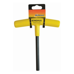Hex End Cushion Grip T-Handle 1/2 in. (Retail Pack) (45216) 6 in. Long Hex Key, 45216