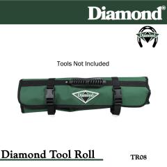 Diamond Farrier TR08 8-Pocket Tool Roll