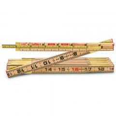 Lufkin X48N 5/8 in. x 8 ft. Red End Wood Rule with 6 in. Slide Rule Extension