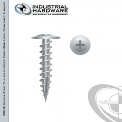 X90MSS, stainless steel screws, 8 x 1-5/8 stainless steel fasteners