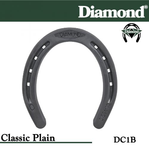 Farrier Horseshoes 10 Size 1 Diamond Horse Shoes DC1B Classic Plain Details about  /Lot