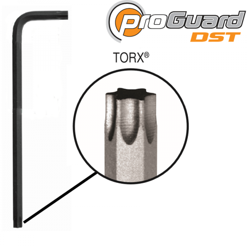 Eklind 15850 T50 Short Series Torx L-Key, Pack of 5