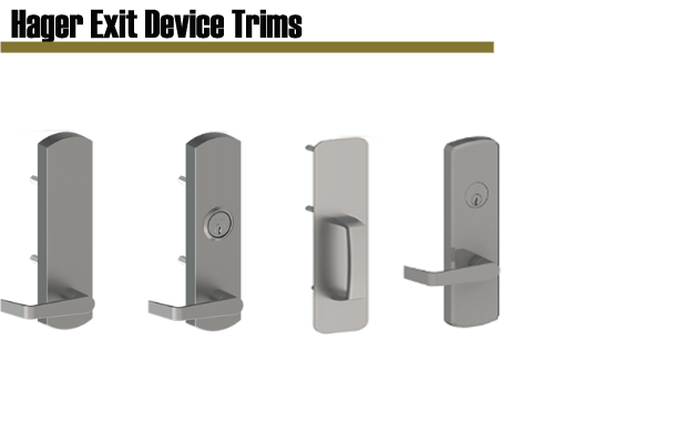 Hager Exit Device Trims