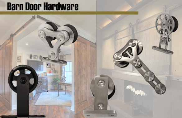 Industrial Hardware and Specialties carries the full line of Hager Barn Door Hardware. Available in both the Conestoga and Stainless Steel design lines.